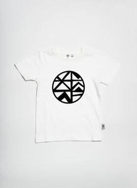 T-shirt, organic, white, logo