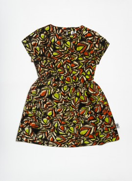 Coco, dress, Lime Leaves