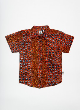 Conrad, shirt, Orange Stone, limited edition