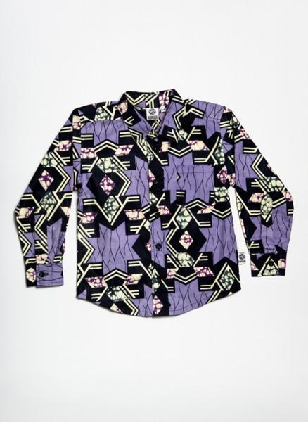 Billy, skjorte, Purple Star, limited edition