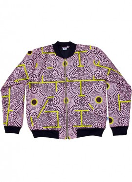 Ali, foret bomber jacket, Rosy Insubura, unisex