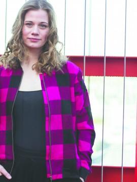 Ali, voksen bomber jacket, Pink Masai, unisex, limited edition