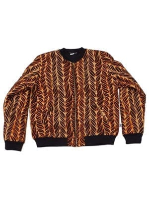 Ali, foret bomber jacket, Brown Feathers, normal fit - Kwadusa.com