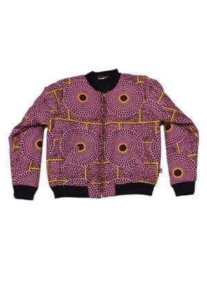 Ali, foret bomber jacket, Strong Rosy Insubura, normal fit - Kwadusa.com