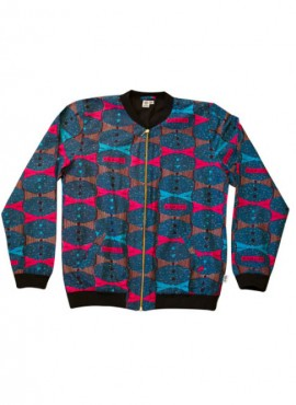 Ali, bomber jacket, Blue High Life, unisex