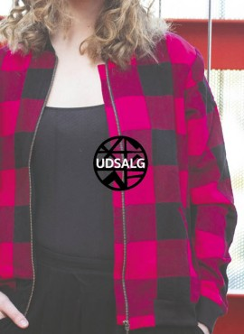 Ali, voksen bomber jacket, Pink Masai, unisex