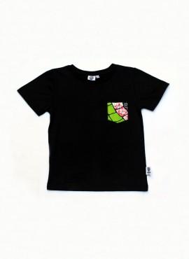Alvin, T-shirt, sort, snake