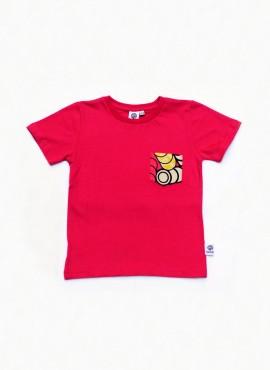 Alvin, T-shirt, pink, pink rings
