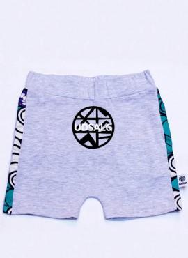 Anton, shorts, grå, mint rings