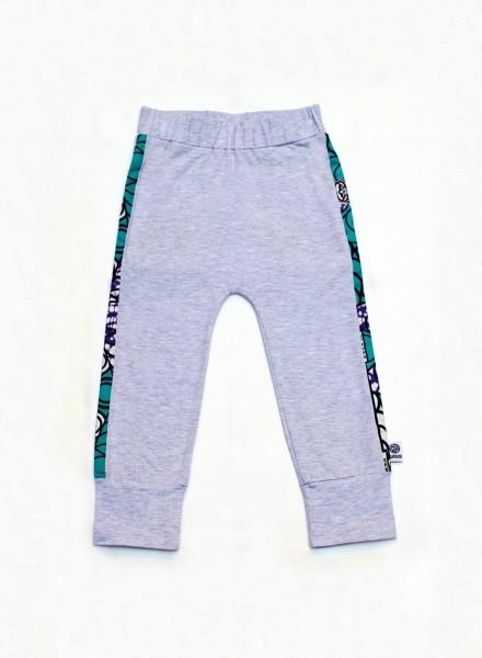 Avina, bukser, grå, mint rings