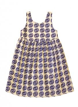 Carmen, kjole, Blue Wave