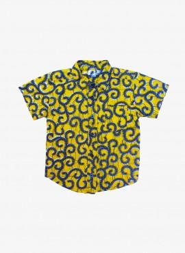Conrad, shirt, Yellow Millipede, limited edition