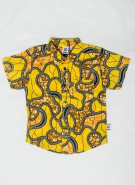 Conrad, shirt, Yellow Tracks, limited edition