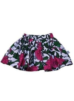 Doris, nederdel, Big Pink Flowers
