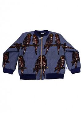 Fatma, foret bomber jacket, Blue Bird Jeans
