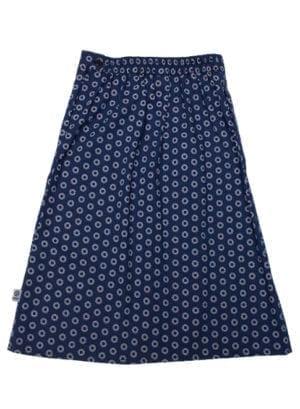 Gloria, skirt, White sun in Blue