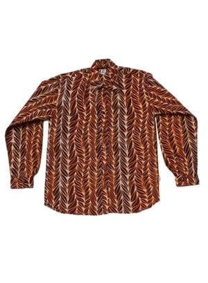Henry, Brown Feathers, langærmet skjorte - Kwadusa.com