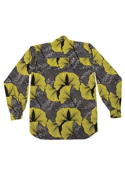 Henry, langærmet skjorte, Big Yellow Flower