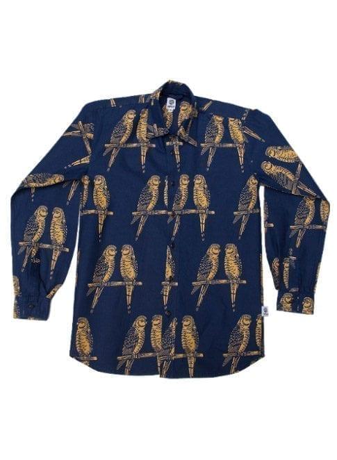 Henry, langærmet skjorte, Blue Birds