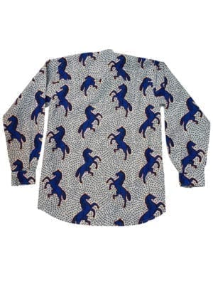 - Henry, langærmet skjorte, Blue Horse