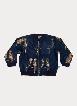 Anissa, bomber jacket, Blå Fugle, limited edition