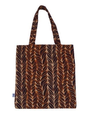 JoyJoy, Tote Bag, Brown Feathers - Kwadusa.com, Tote Bag, Brown Feathers - Kwadusa.com