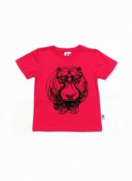 T-shirt, pink, flodhest