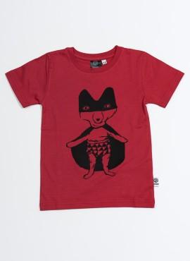 T-shirt, organic, red, Super Fox
