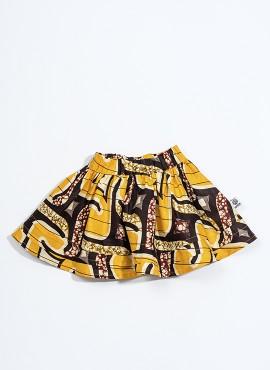 Doris, nederdel, Yellow Weave