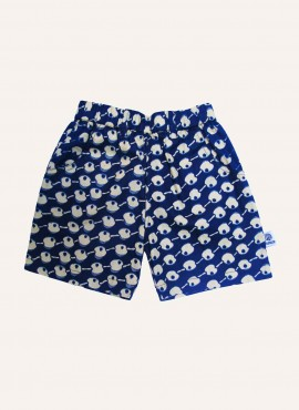 Carlo, shorts, Blue Apples