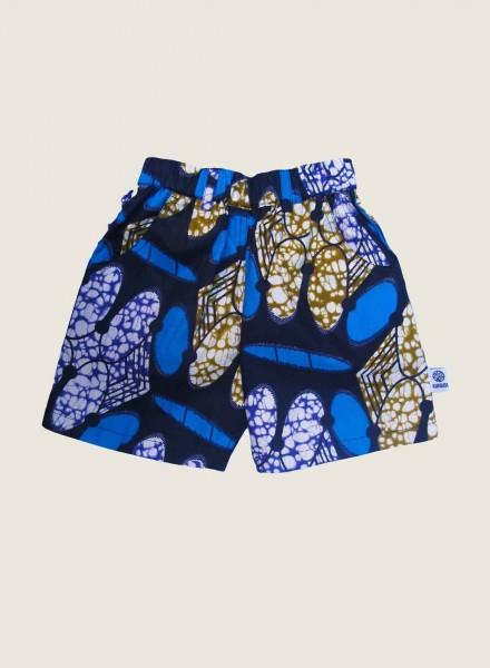 Carlo, shorts, Blue Bubbles