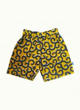 Carlo, shorts, Yellow Millipede